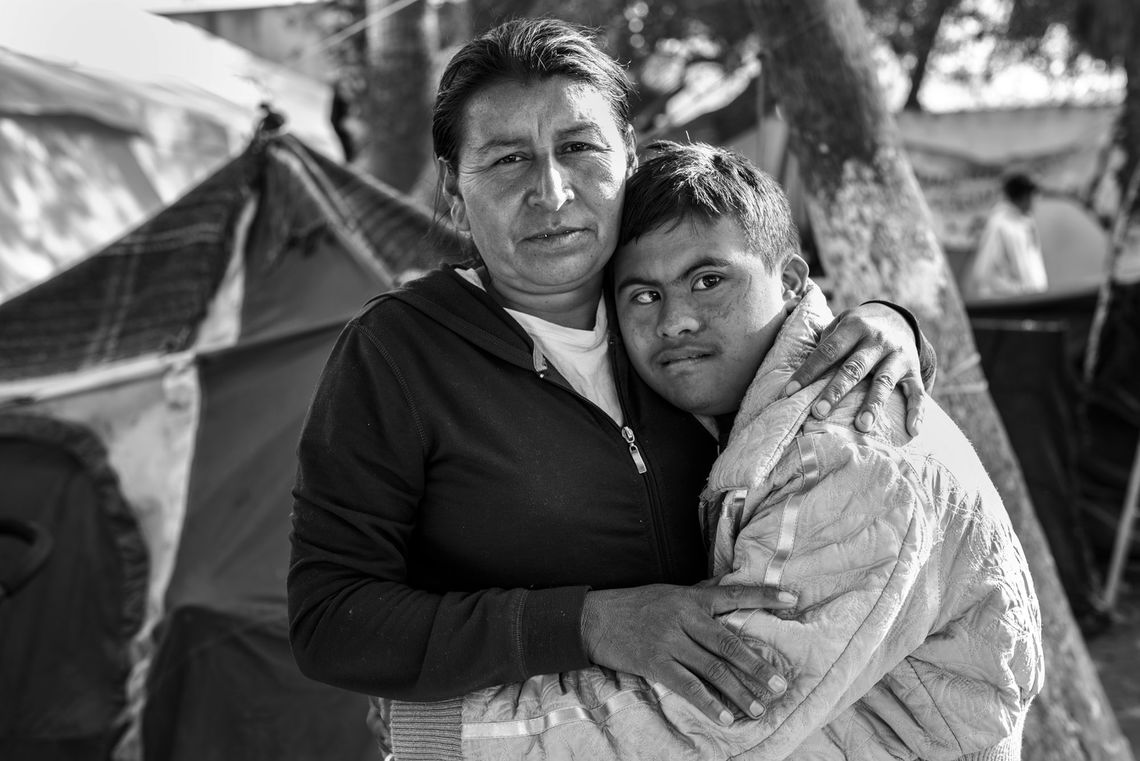 05 a mother and her son in tijuana ada trillo