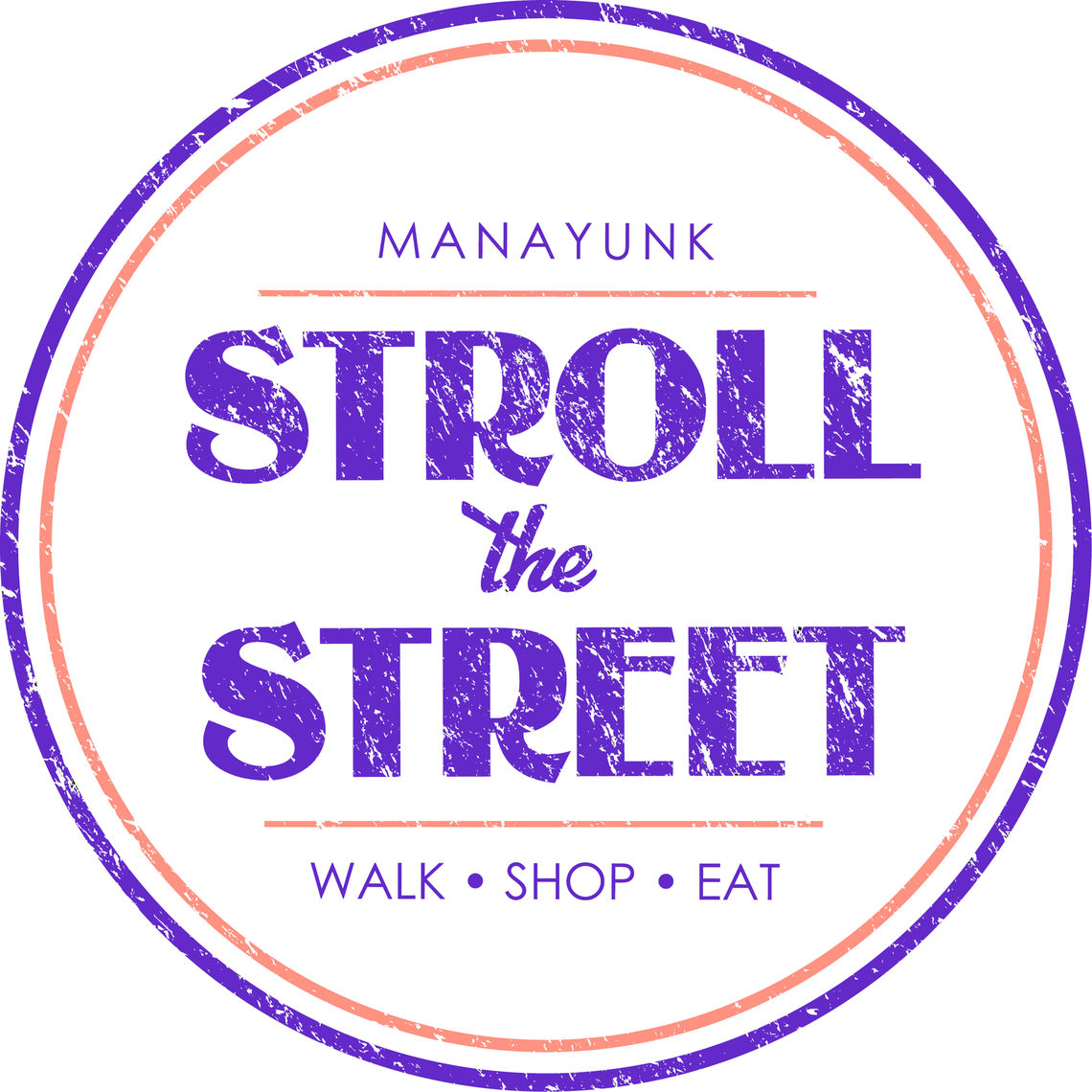 stroll the street final logo
