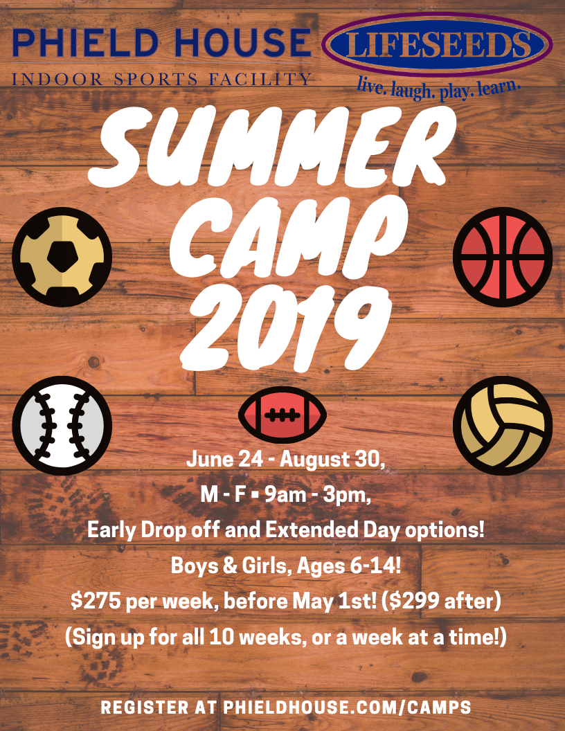 phield house summer camp 2019 3
