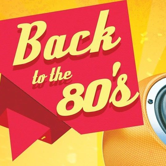 back to the 80s night