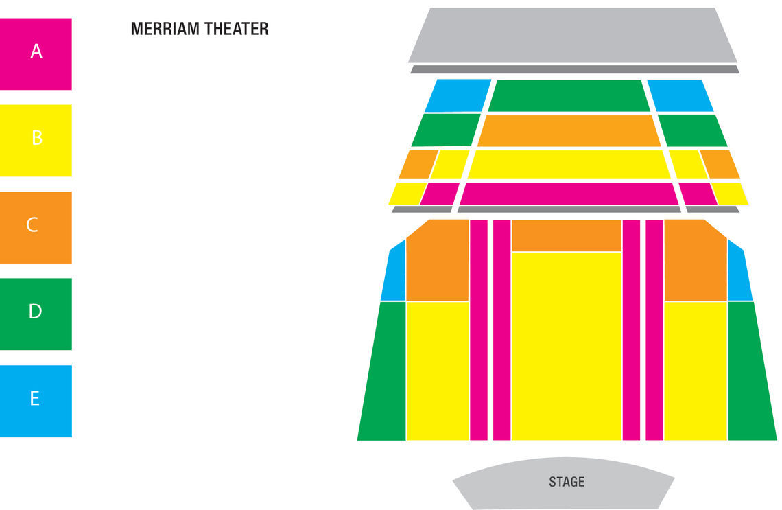 map merriam theater color only