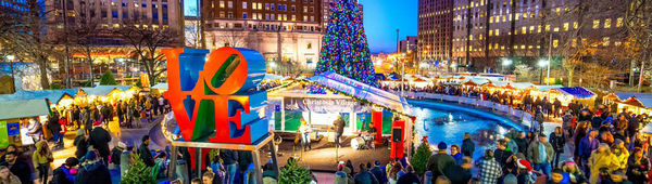 Learn about this traditional German Christmas Market in the heart of Philly!