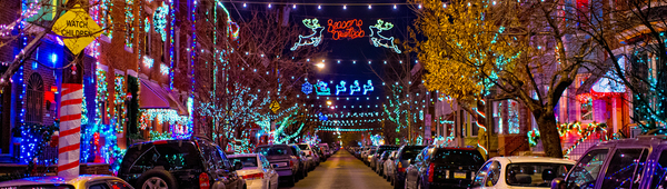 Where to see the best light displays in the Philadelphia region!