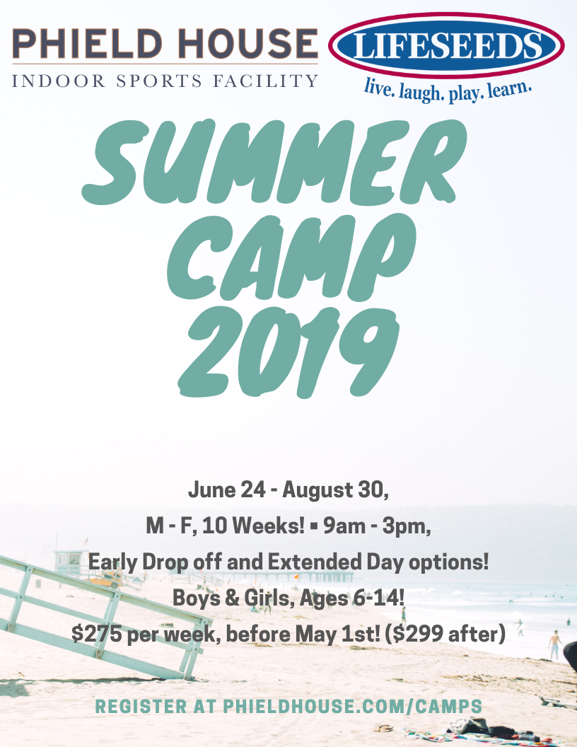 phield house summer camp 2019 1