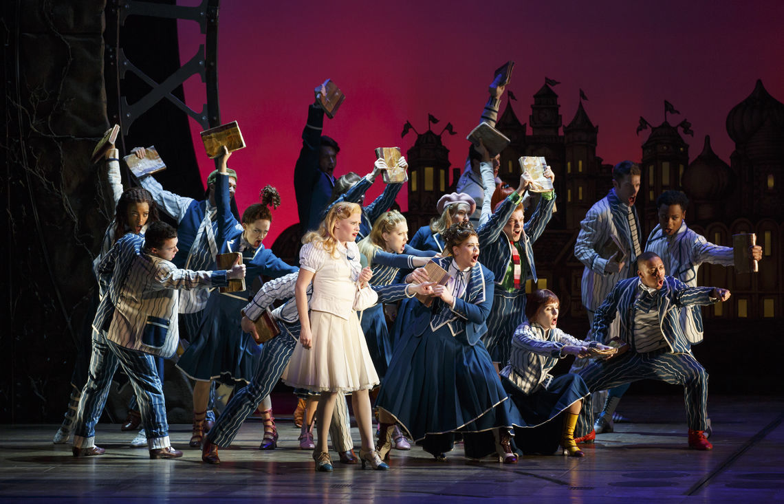 the national touring company of wicked photo by joan marcus 2015