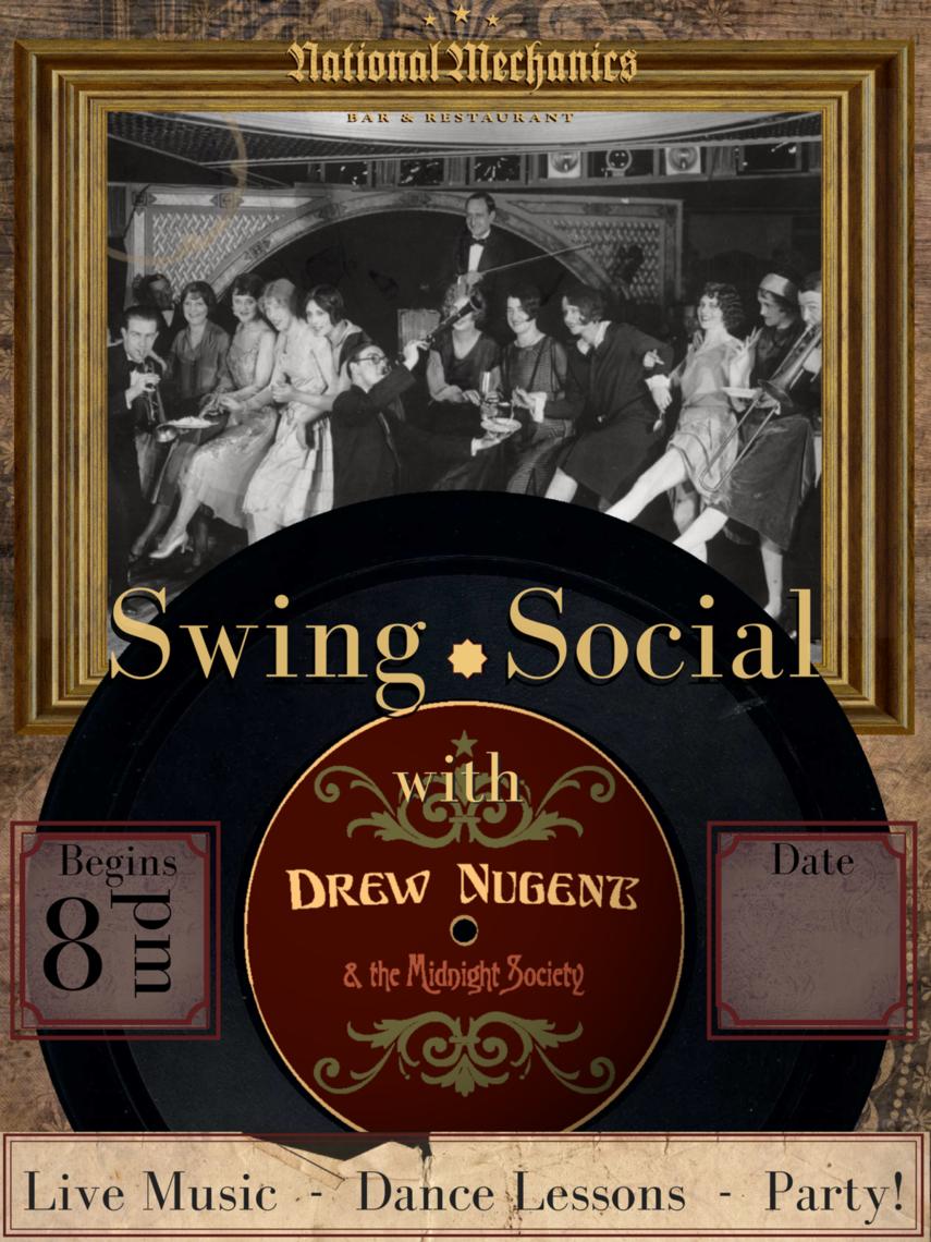 swing social poster b