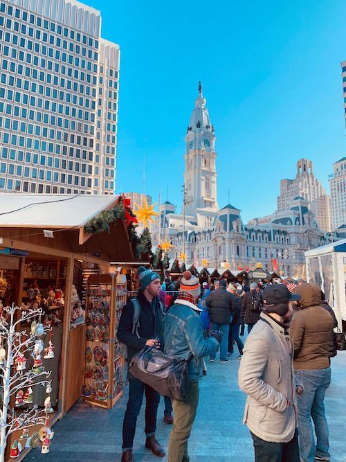 Christmas Village Philly.Phillyfunguide Christmas Village In Philadelphia