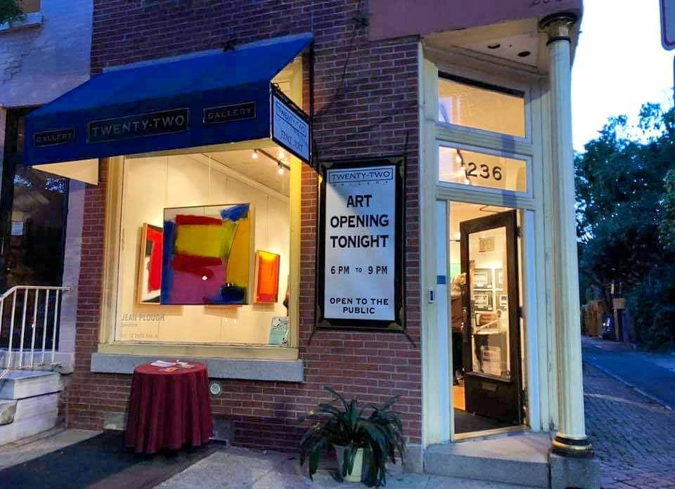 22gallery front dusk