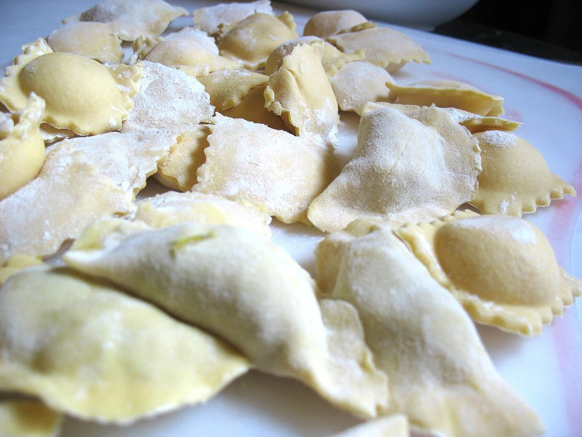 pierogies raw
