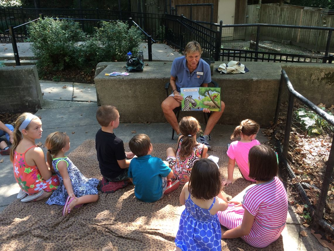 story time at brandywine zoo