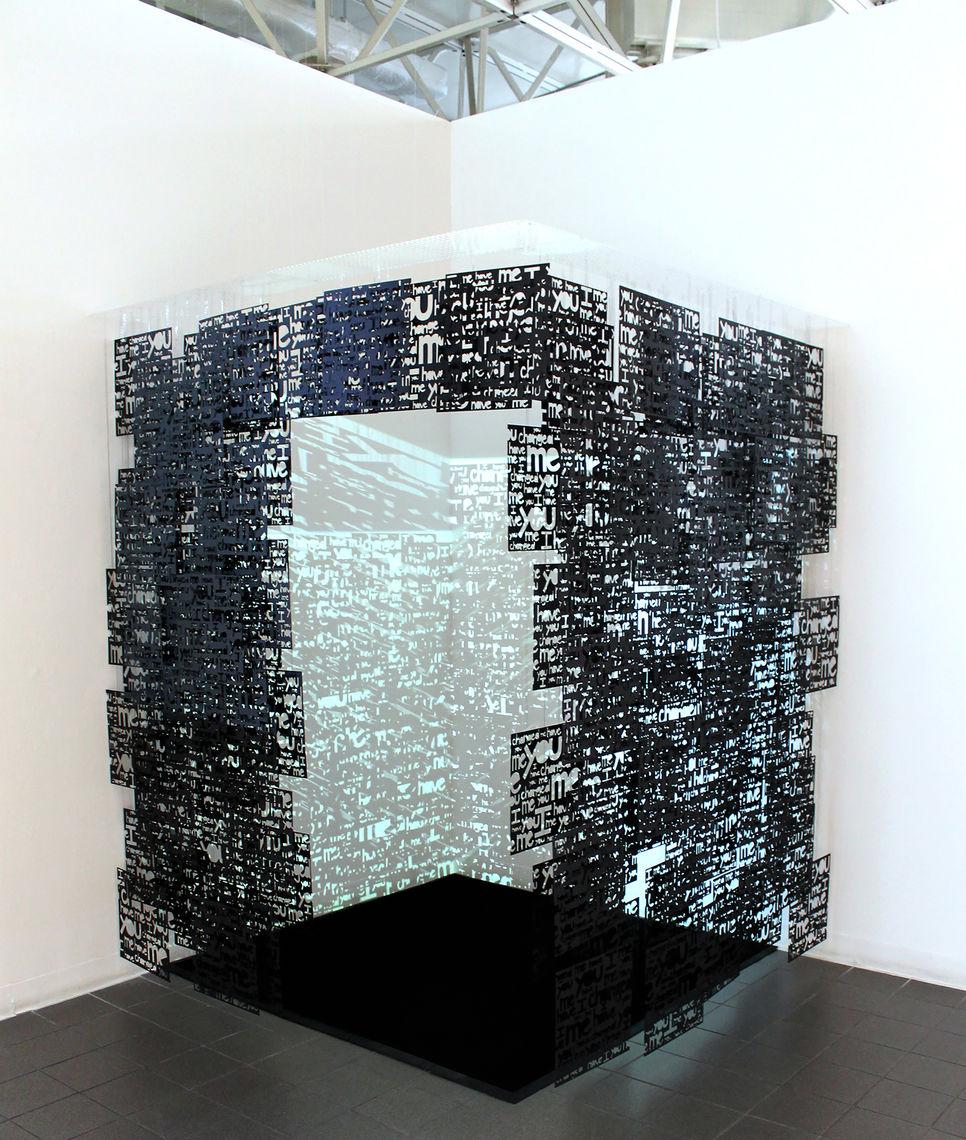 2013 dawn kramlich a solipsist s cell full installation