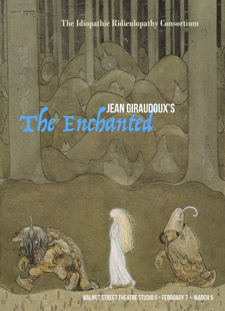 the enchanted postcard front web