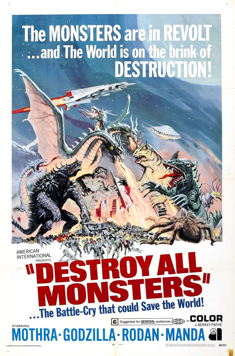 destroy all monsters poster 004