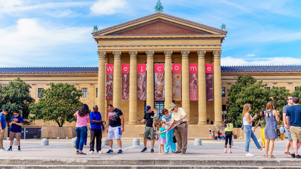 phila museum of art welcome