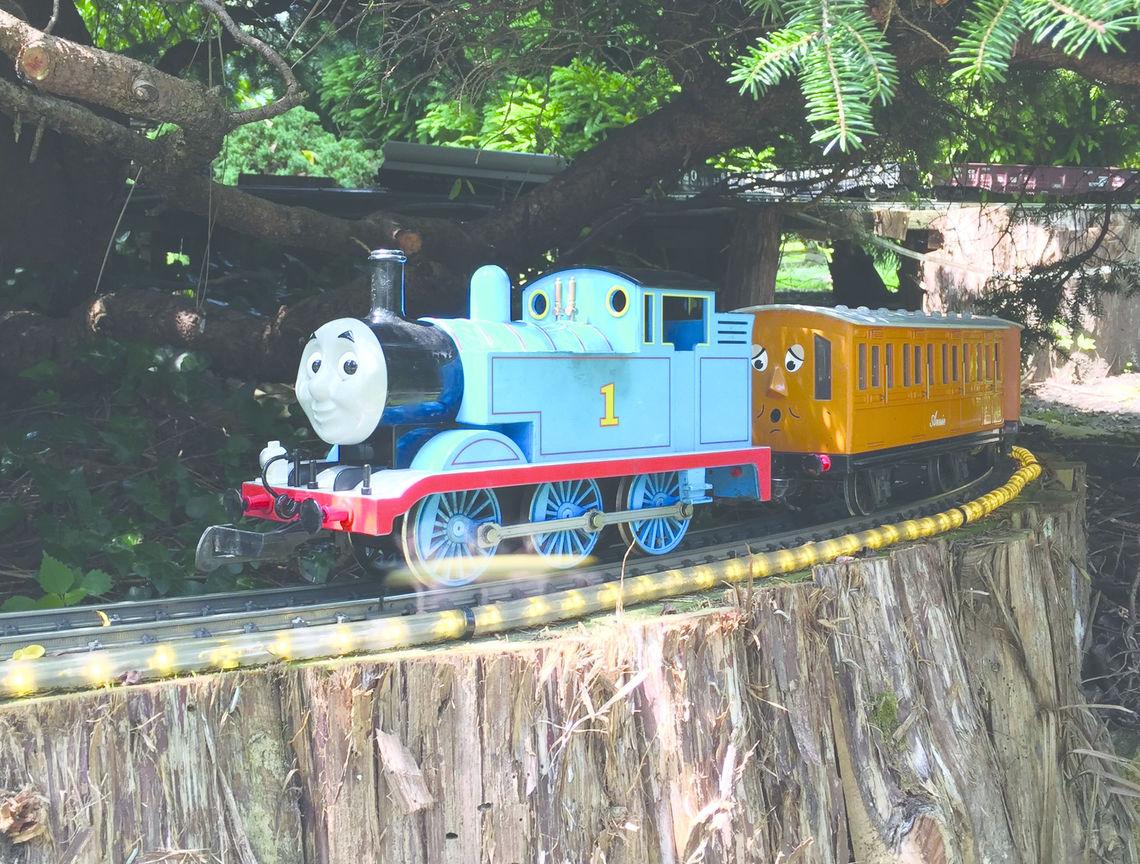 Phillyfunguide – Thomas the Tank Engine Weekend at the Garden Railway