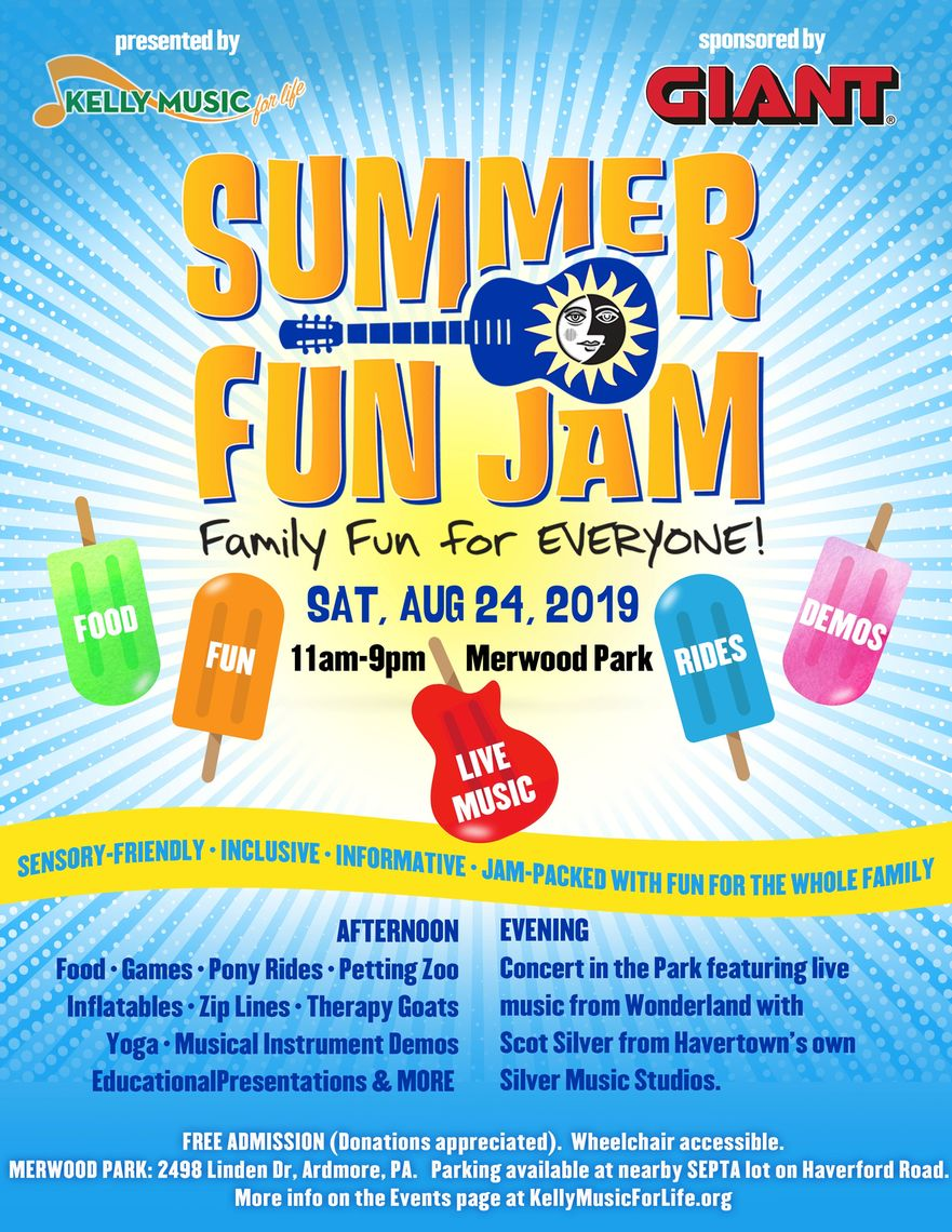 Phillyfunguide – Summer Fun Jam and Concert in the Park