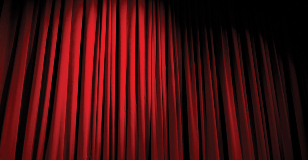 theatre curtain placeholder